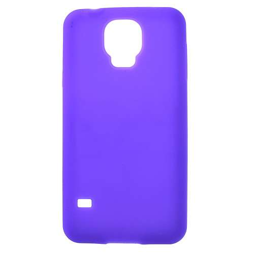 Silicone Hoesje Samsung Galaxy S5 Paars