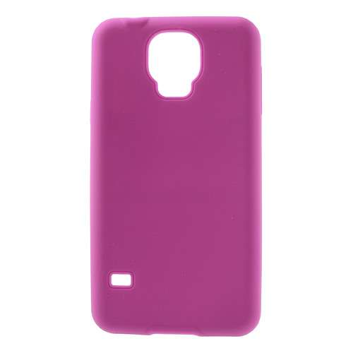 Silicone Hoesje Samsung Galaxy S5 Roze