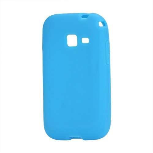 Silicone Hoesje voor Samsung Galaxy Ace Duos S6802 Blauw