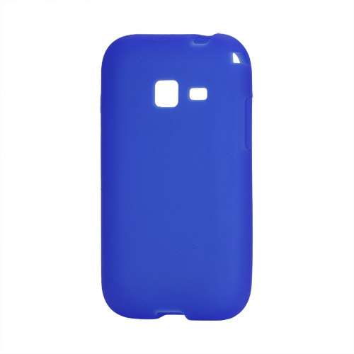 Silicone Hoesje voor Samsung Galaxy Ace Duos S6802 Donkerblauw