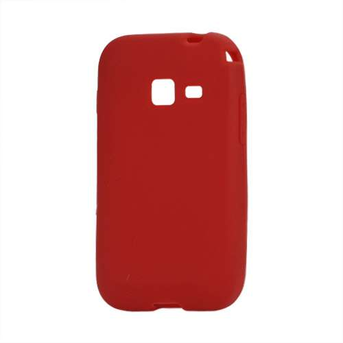 Silicone Hoesje voor Samsung Galaxy Ace Duos S6802 Rood