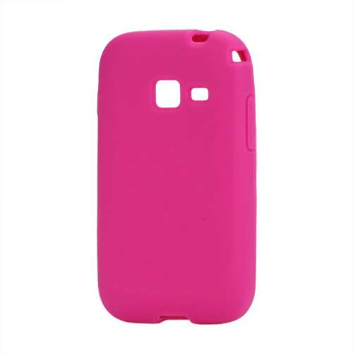 Silicone Hoesje voor Samsung Galaxy Ace Duos S6802 Rose