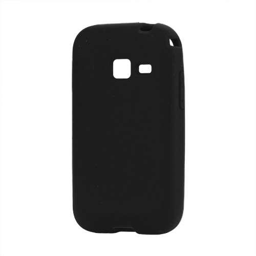 Silicone Hoesje voor Samsung Galaxy Ace Duos S6802 Zwart