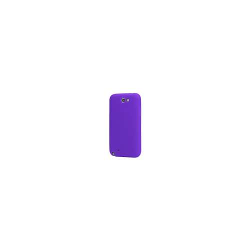 Silicone Hoesje voor Samsung Galaxy Note 2 N7100 Paars