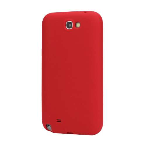Silicone Hoesje voor Samsung Galaxy Note 2 N7100 Rood