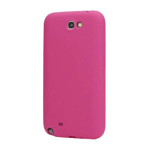 Silicone Hoesje voor Samsung Galaxy Note 2 N7100 Rose