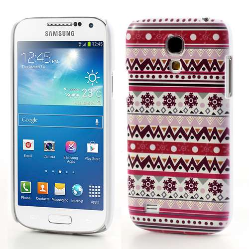 Sneeuwvlokken Hard Case Samsung Galaxy S4 Mini i9190