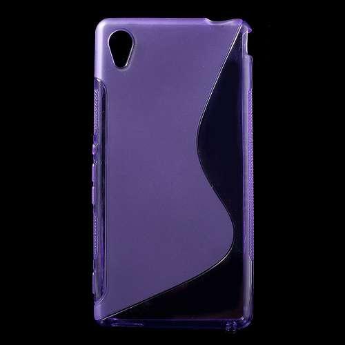 Sony Xperia M4 Aqua Hoesje Paars (flexibel)
