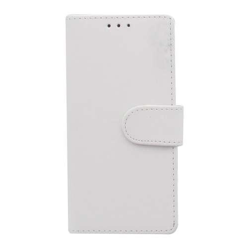 Sony Xperia M4 Aqua Hoesje Wit met Opbergvakjes