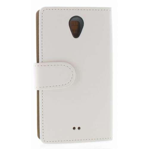 Sony Xperia T Boekhoesje Wit met Opbergvakjes