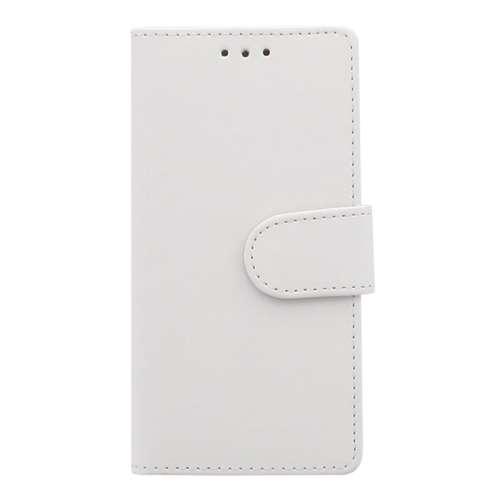 Sony Xperia XZ1 Compact Telefoonhoesje Wit met Opbergvakjes