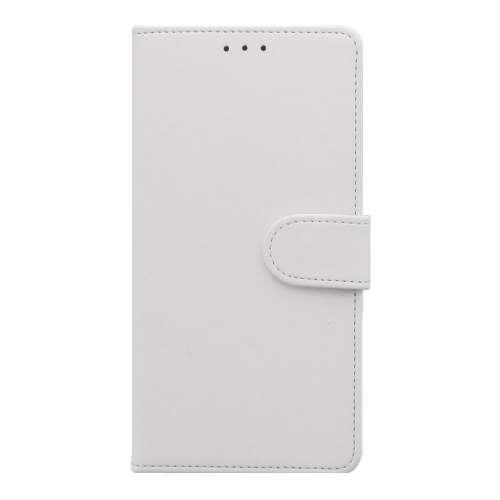 Sony Xperia XZ3 Telefoonhoesje Wit met Pasjeshouder