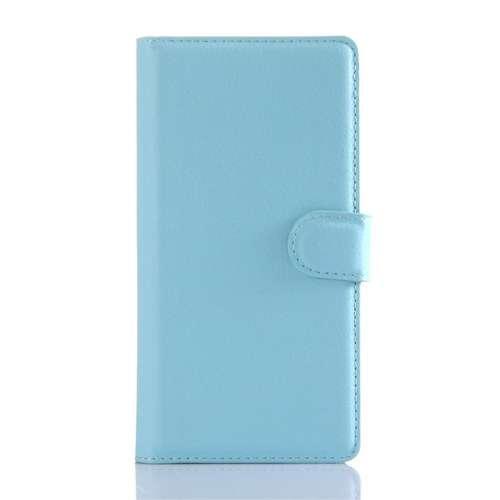 Sony Xperia Z5 Beschermhoesje Blauw met Opbergvakjes