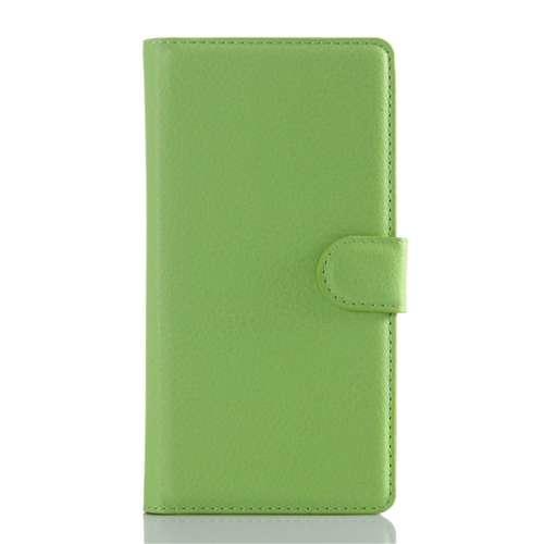 Sony Xperia Z5 Beschermhoesje Groen met Opbergvakjes