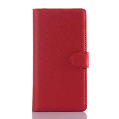 Sony Xperia Z5 Beschermhoesje Rood met Opbergvakjes