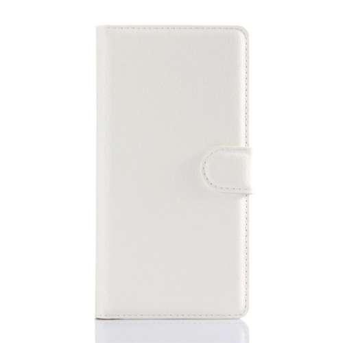 Sony Xperia Z5 Beschermhoesje Wit met Opbergvakjes