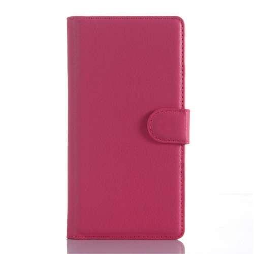 Sony Xperia Z5 Compact Beschermhoesje Roze met Opbergvakjes