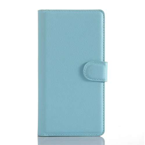 Sony Xperia Z5 Premium Beschermhoesje Blauw met Opbergvakjes