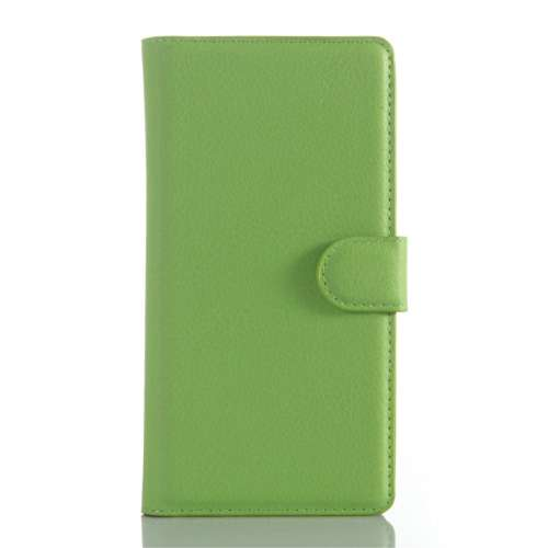 Sony Xperia Z5 Premium Beschermhoesje Groen met Opbergvakjes