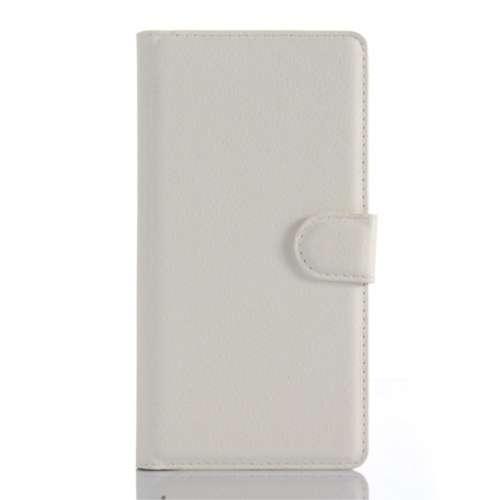 Sony Xperia Z5 Premium Beschermhoesje Wit met Opbergvakjes