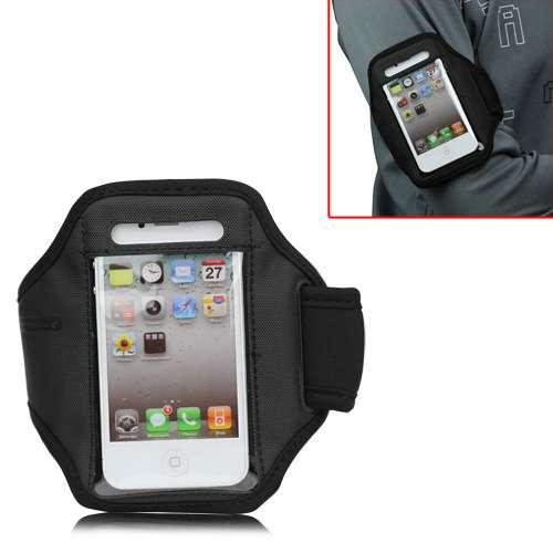 Sport Armband iPhone 4-4S Zwart