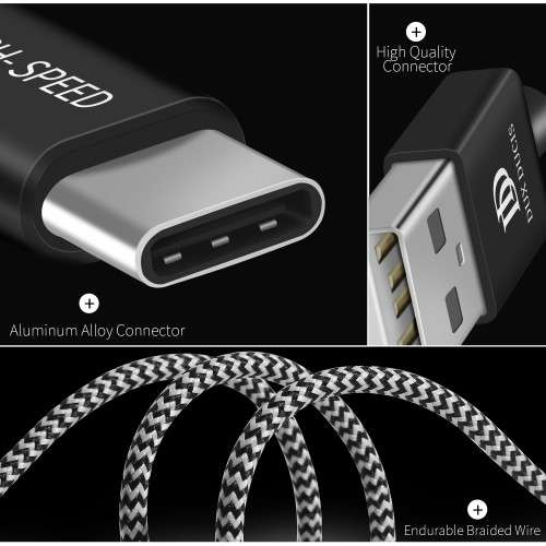 Thuislader USB-C 2.1A 1.5 meter