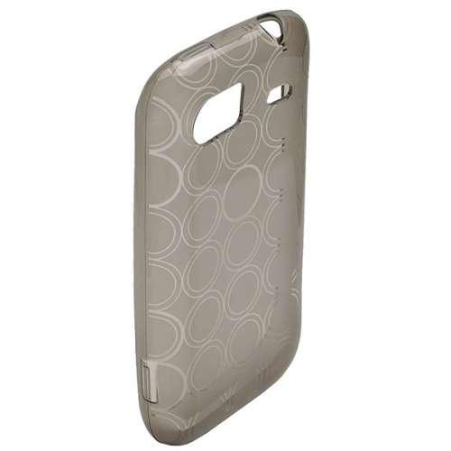 TPU Case voor HTC 7 Mozart Black Transparent