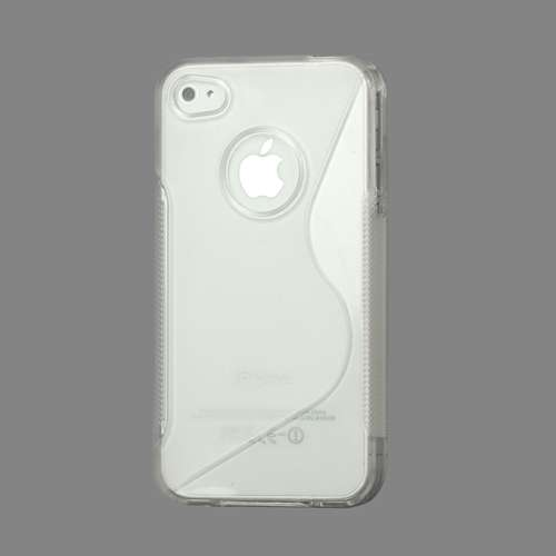 TPU Hoesje Apple iPhone 4-4S Transparant