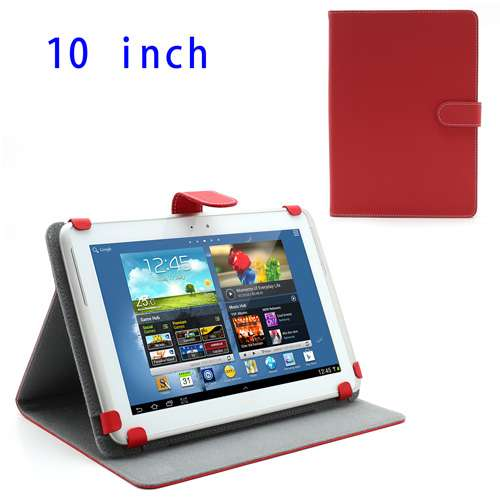 Universal Stand Case 10 Tablet Rood