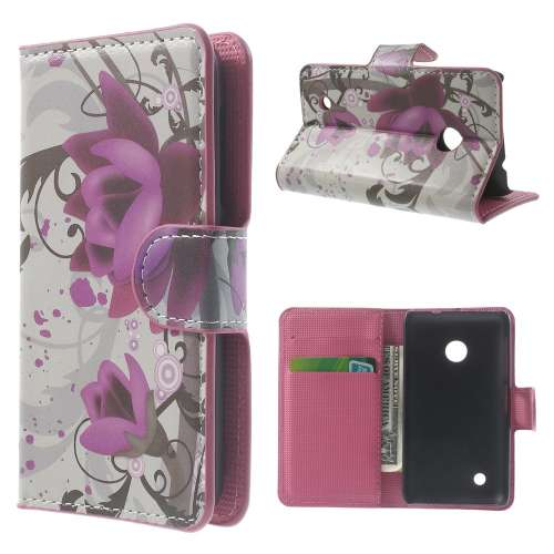 Wallet Case Nokia Lumia 530 Lotus