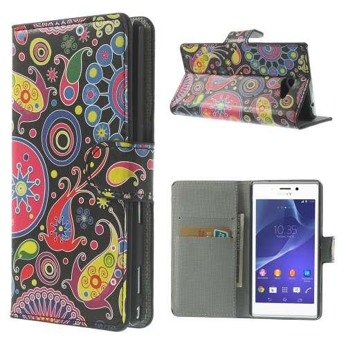 Wallet Stand Case Sony Xperia M2 Patronen Sony beste